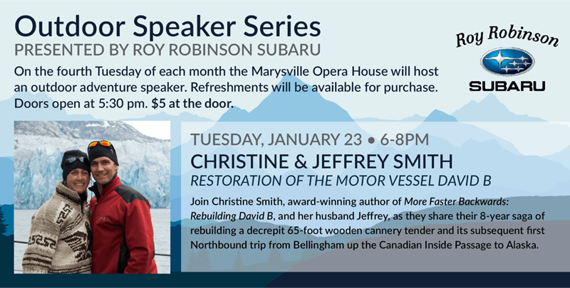 Outdoor Speaker Series - Christine and Jeffrey Smith