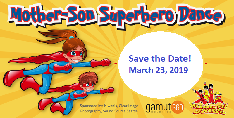 Mother-Son Superhero Dance_save the date