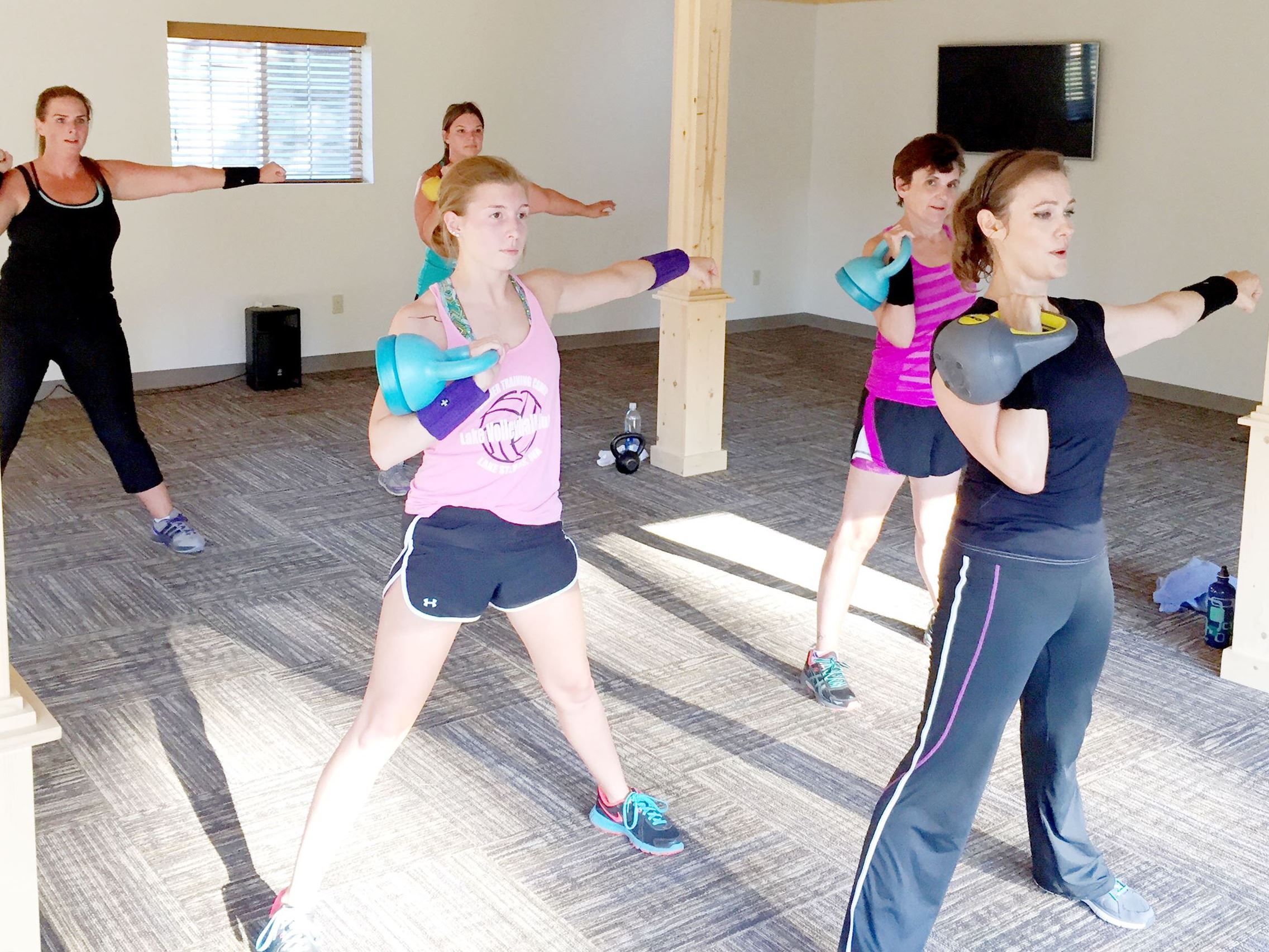 Kettlebell group photo