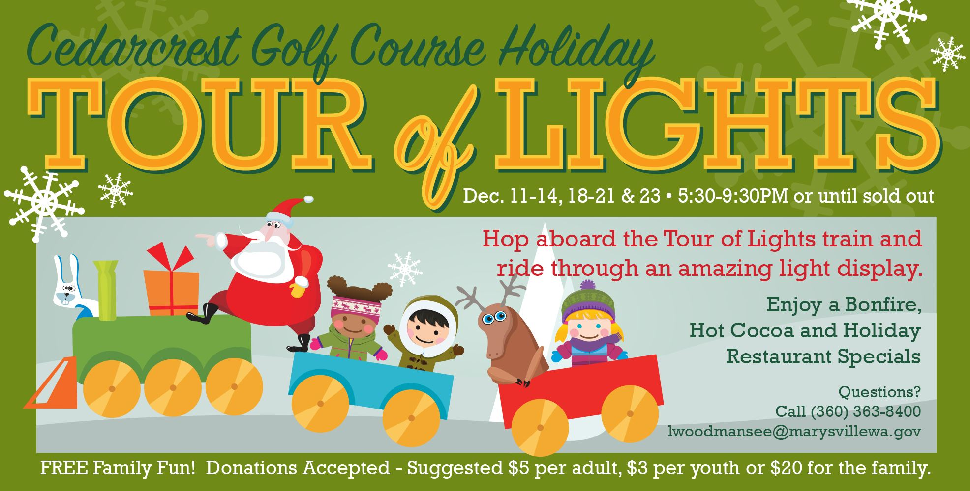 Holiday Tour of Lights   Marysville, WA - Official Website