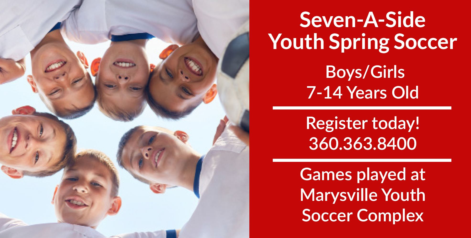 Seven A Side Youth Spring Soccer Tile