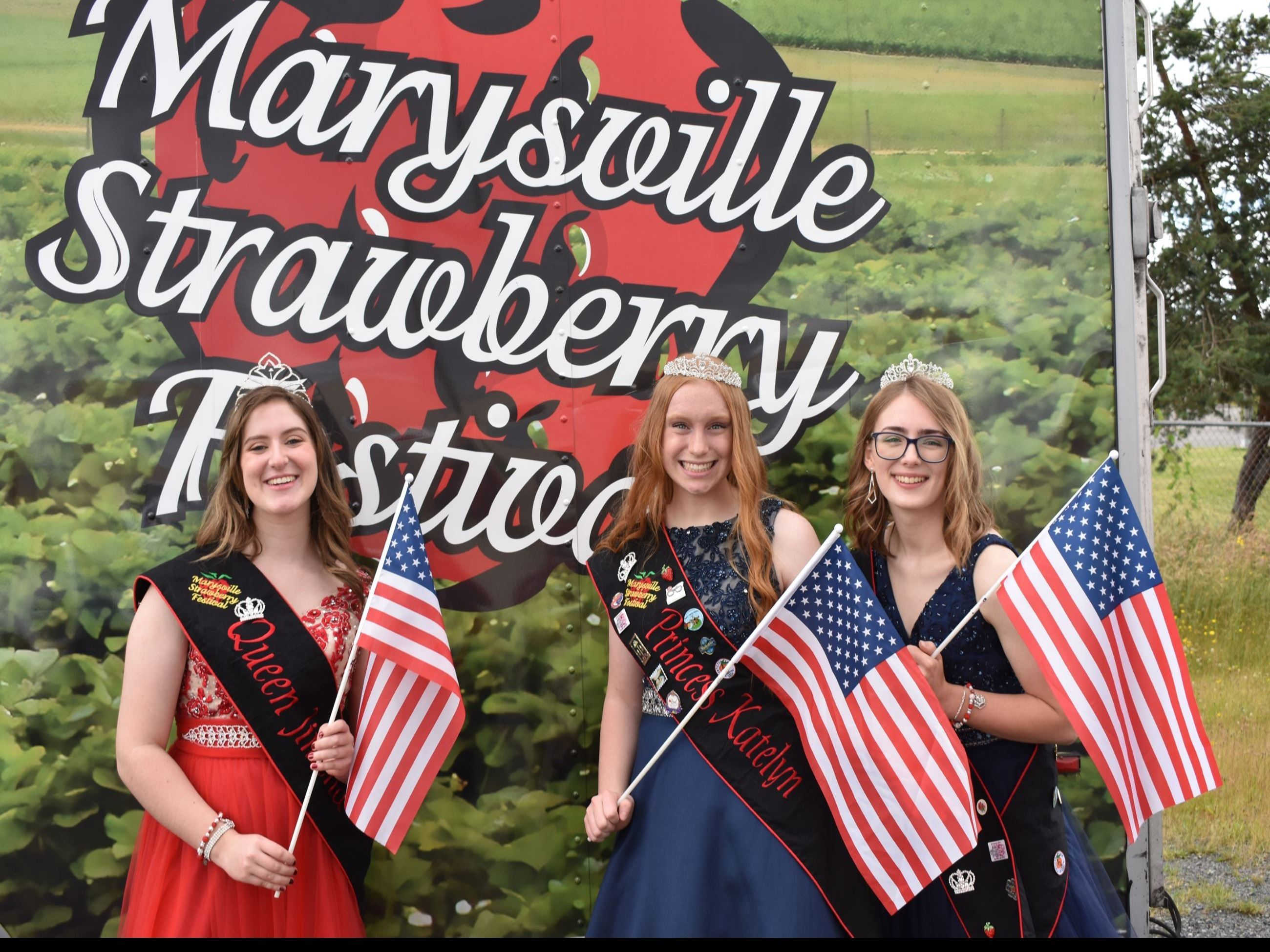 Marysville Strawberry Festival Princesses