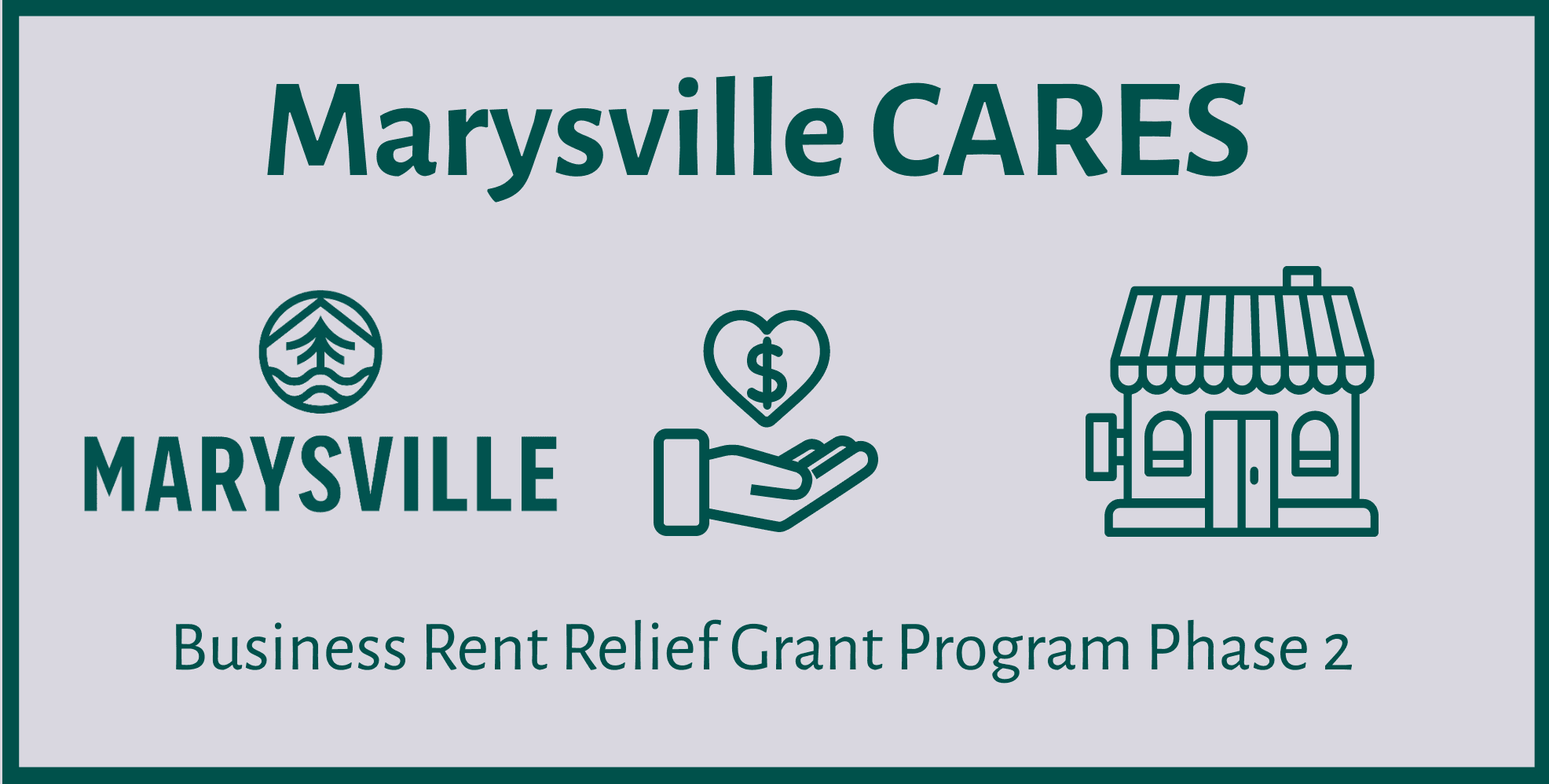 Marysville Small Business Rent Relief Grant Phase 2