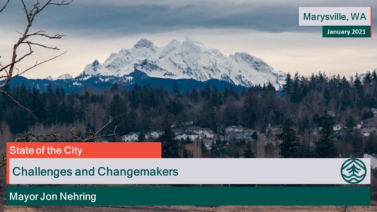 State of the City Jan. 21 - Challenges and Changemakers