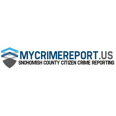 My Crime Report, Snohomish County Citizen Crime Reporting Opens in new window