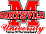 Marysville University logo - home of the volunteers