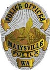 Marysville Police Department badge