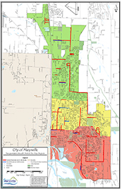 City of Marysville TBD Project List Map